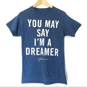 """You May Say I'm a Dreamer"" John Lennon T-Shirt"